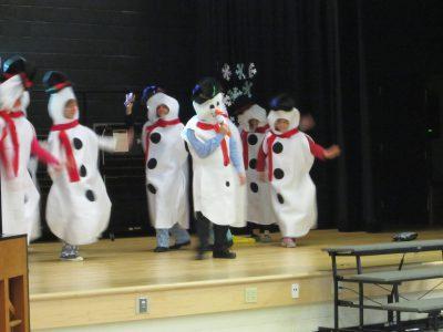 Building Leadership Team as Snowmen