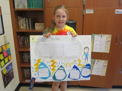 Fourth Grade Blue Ribbon Winner