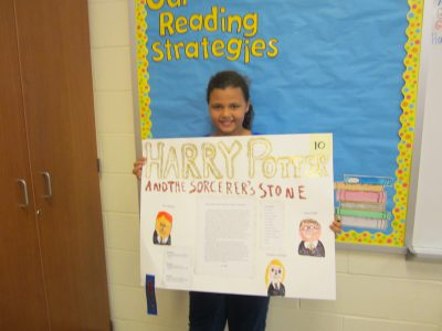 Third Grade Blue Ribbon Winner