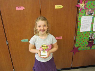 First Grade Student Winner