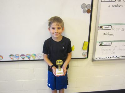 Second Grade Student Winner