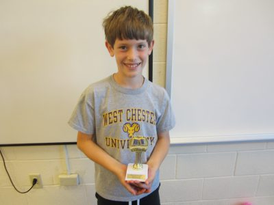 Fifth Grade Student Winner