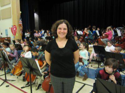 Mrs. Elisa Mata, Orchestra Director
