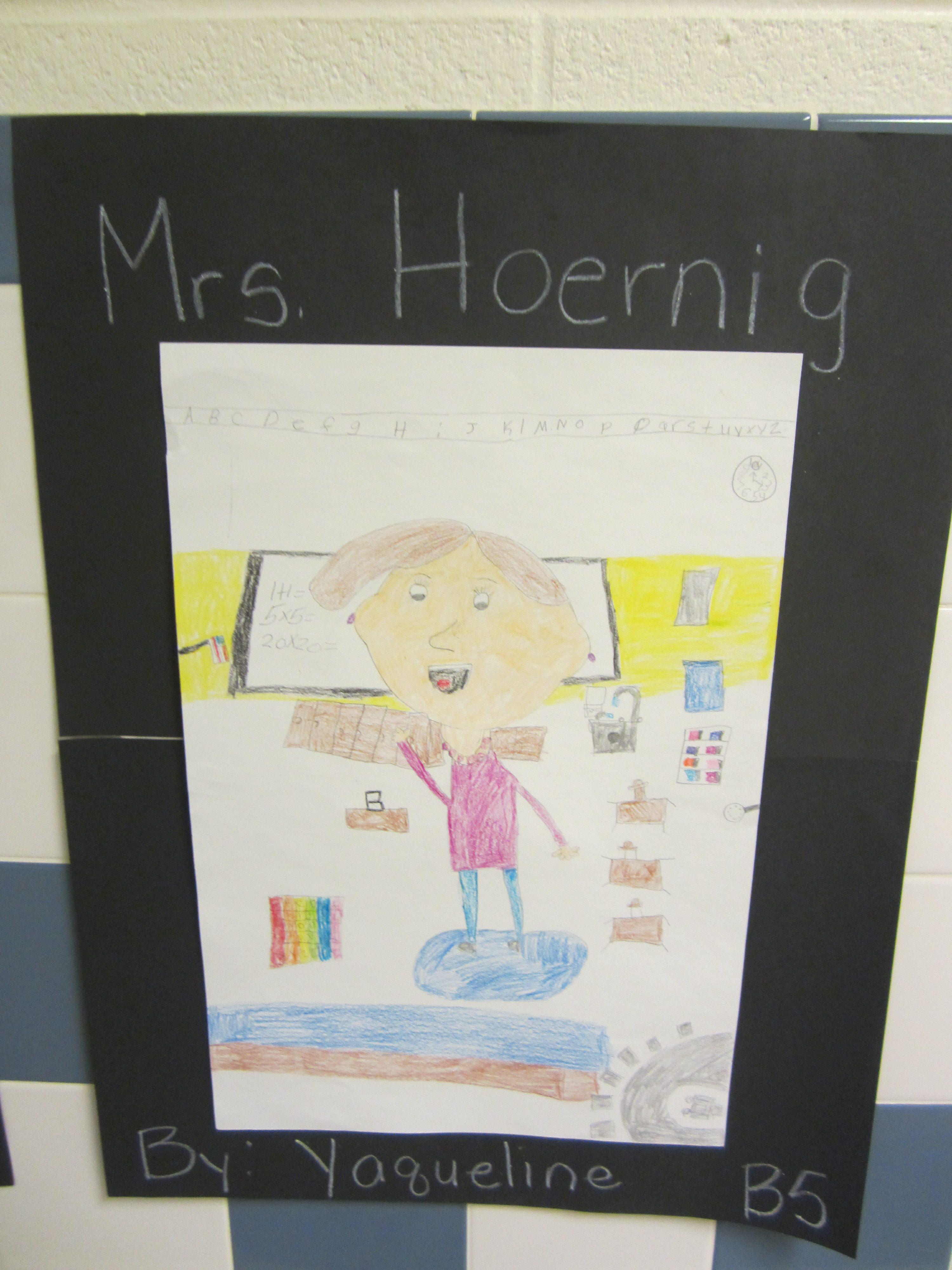 Portrait of a teacher