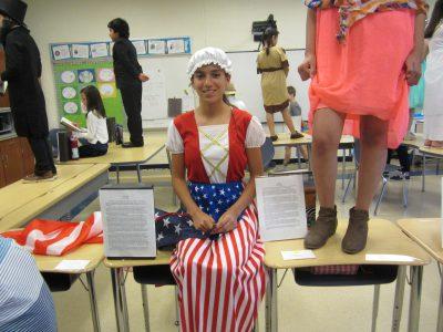 Students Betsy Ross