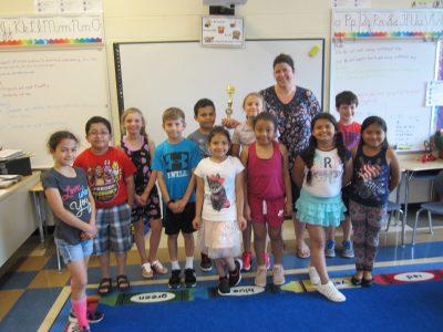 3rd grade winning class
