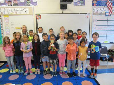 2nd grade winning class