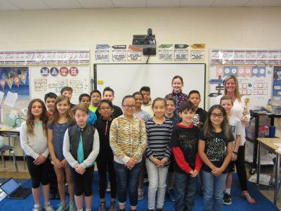 4th grade winning class