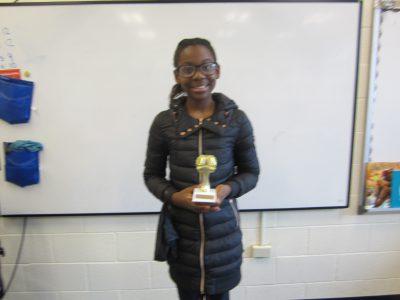 5th grade winner